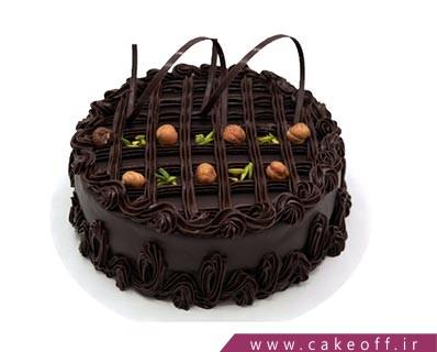کیک کاکائویی فندقی | کیک آف
