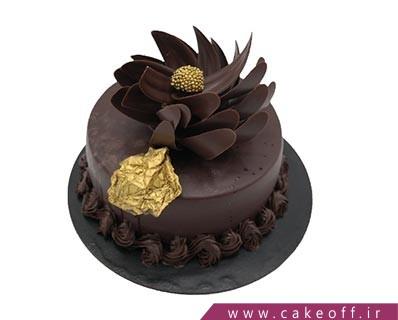 کیک ساده شکلاتی - کیک کاکائویی پلاتین | کیک آف