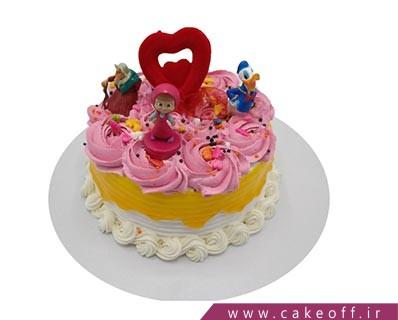 کیک تولد دخترانه جدید - کیک ماشا و عروسک ها | کیک آف