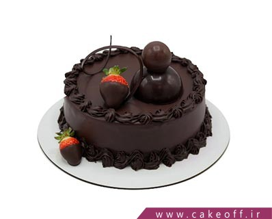 کیک شکلاتی ارکیده | کیک آف