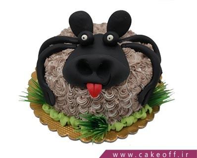 کیک شکلاتی گوسفند خپل | کیک آف