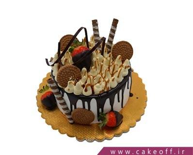 کیک ساده - کیک آندلس چکه ای | کیک آف
