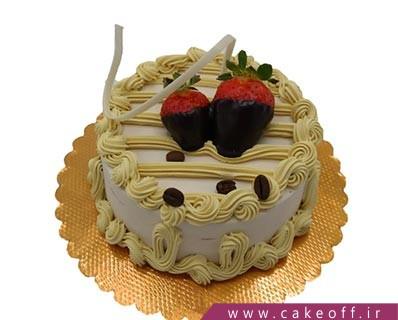 کیک ساده - کیک ناتلیا خامه ای | کیک آف