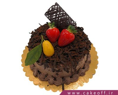 کیک شکلاتی - کیک زعفرانیه | کیک آف