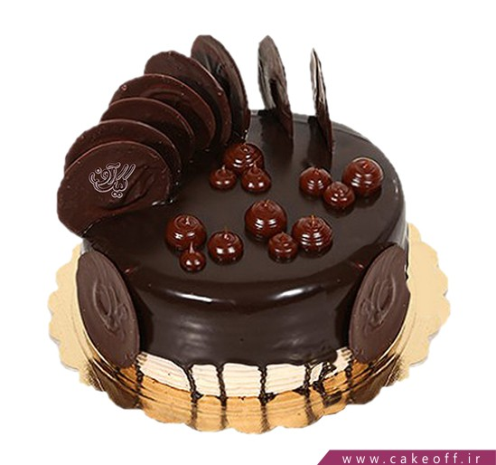کیک تولد ساده - کیک قناد کوچولو | کیک آف