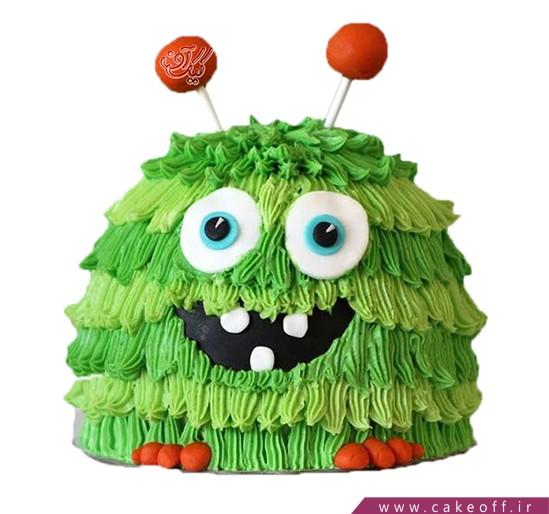 کیک های تولد - کیک بچگانه آدم فضایی | کیک آف