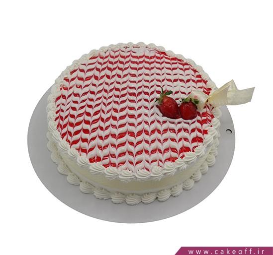 کیک تولد ساده - کیک ناتلی خوشمزه | کیک آف