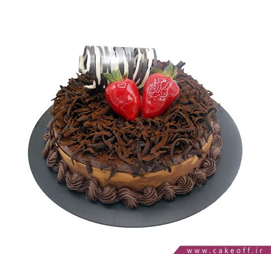 کیک شکلاتی النا | کیک آف