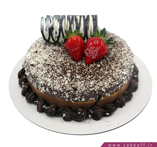 کیک شکلاتی نیوشا خامه ای