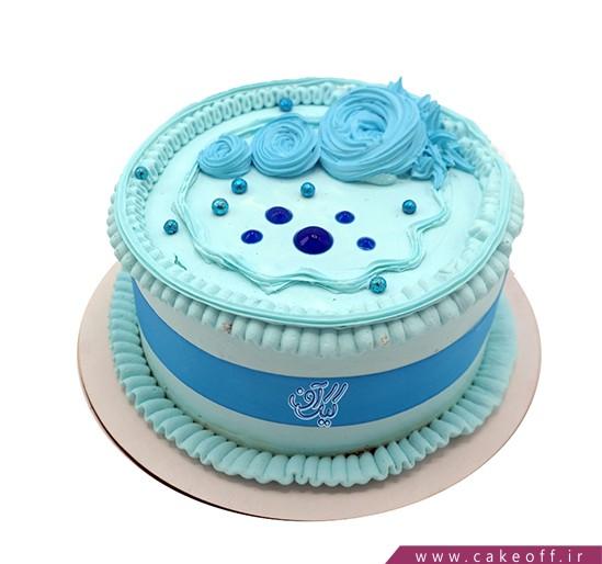 کیک آبی مثل آسمان | کیک آف
