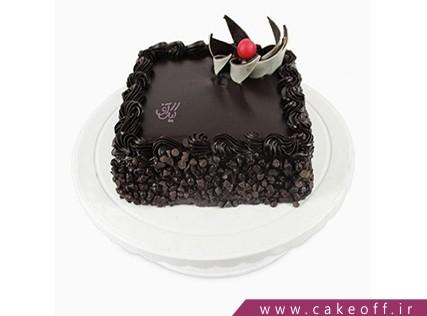 کیک شکلاتی - کیک مربع شکلاتی | کیک آف