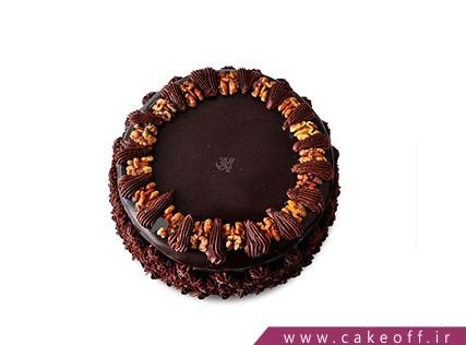 کیک ساده - کیک گردو شکلاتی  | کیک آف