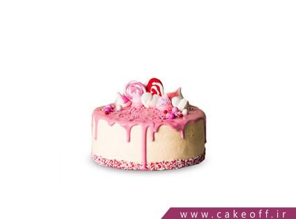 کیک تولد زیبا - کیک آب نبات چکه ای | کیک آف