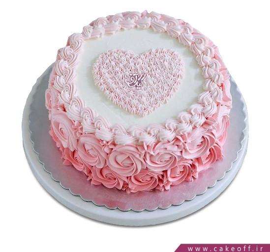 کیک زیبا - کیک قلب ها برای که به صدا در می آیند | کیک آف