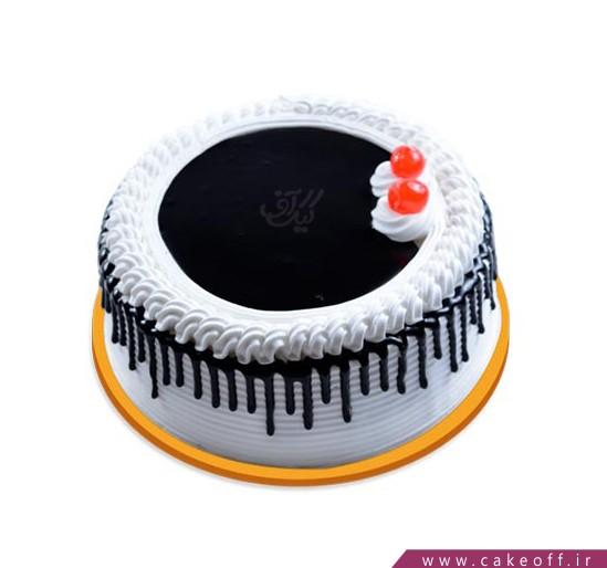 کیک زیبا - کیک چکه ای از آرامش | کیک آف