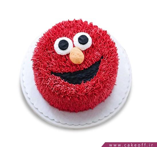 کیک تولد با مزه - کیک جناب قرمزی | کیک آف