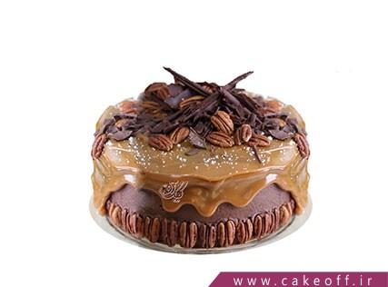 کیک نیوشا کاراملی | کیک آف