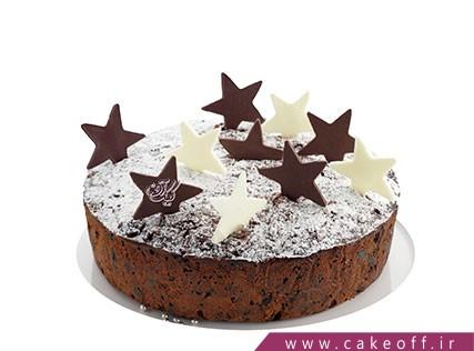 کیک کاکائو ستاره ای | کیک آف