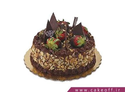 خرید آنلاین کیک - کیک شکلاتی تازه  | کیک آف