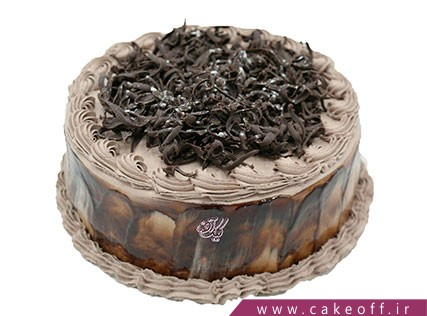 کیک تولد زیبا - کیک قناد باشی | کیک آف