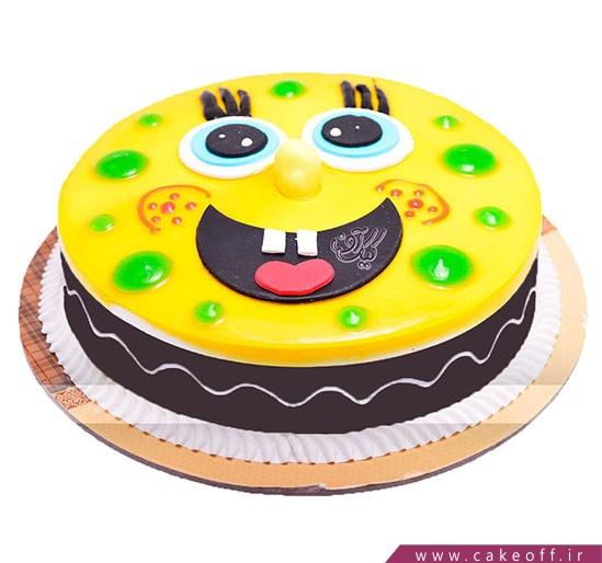 کیک باب اسفنجی تپل