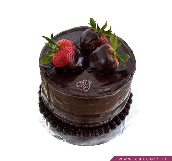 کیک نیوشا شکلاتی