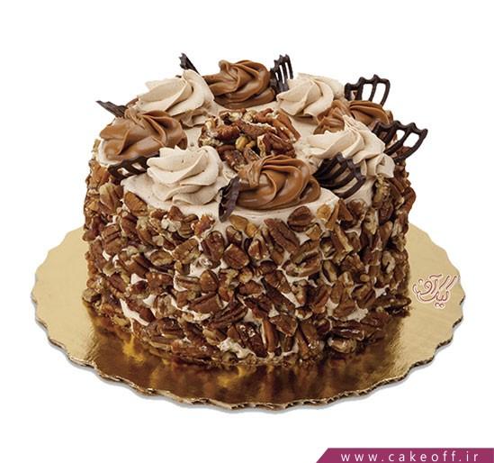 کیک نیوشا گردویی | کیک آف