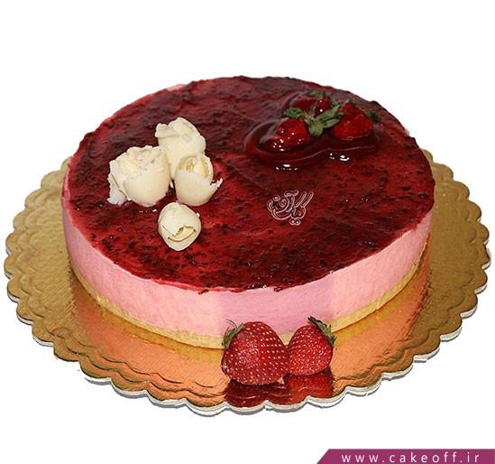 کیک نیوشا ژله ای