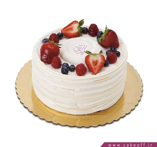 کیک تولد در اصفهان - کیک میوه ای مثل برف | کیک آف