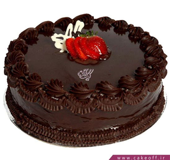 خرید کیک در اصفهان - کیک شکلاتی ساده | کیک آف