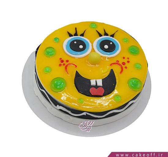 کیک باب اسفنجی سرحال | کیک آف