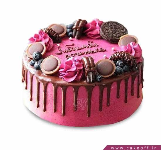 کیک دخترانه - کیک چکه افسانه | کیک آف