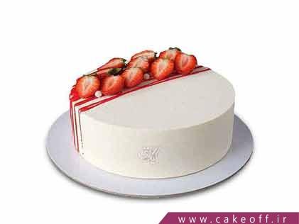 کیک میوه ای - کیک توت فرنگی به نوبت | کیک آف