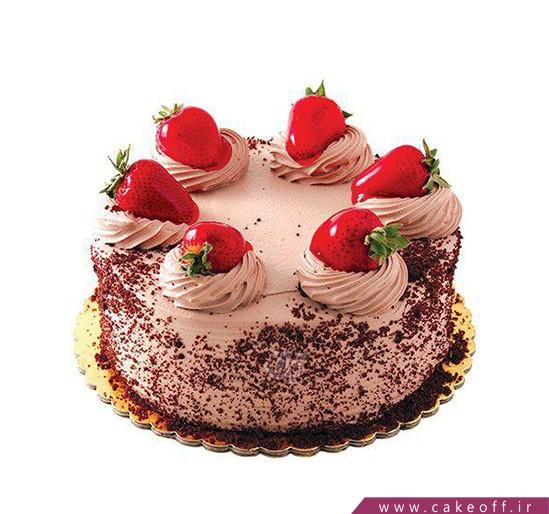 کیک میوه ای - کیک یک روز خوب | کیک آف