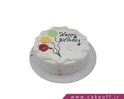 کیک خامه ای - کیک بادکنک ها در آسمان | کیک آف