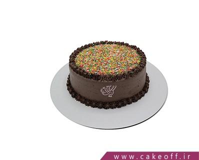 کیک شکلاتی پودر ترافل | کیک آف