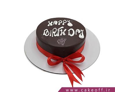 کیک تولد شکلاتی - کیک تولدت مبارک عزیزم | کیک آف