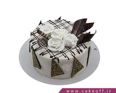 کیک تولد زیبا - کیک خامه ای لالاگل | کیک آف