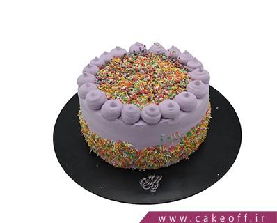 کیک تولد - کیک خامه ای ترافل ریزان | کیک آف
