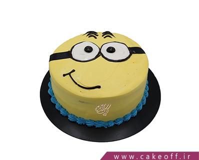 کیک خامه ای - کیک مینیون لبخند می زند | کیک آف