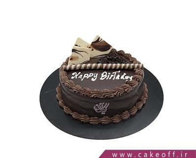 کیک تولد زیبا - کیک شکلاتی جانان | کیک آف