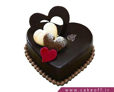 کیک شکلاتی تپش های عاشقانه | کیک آف