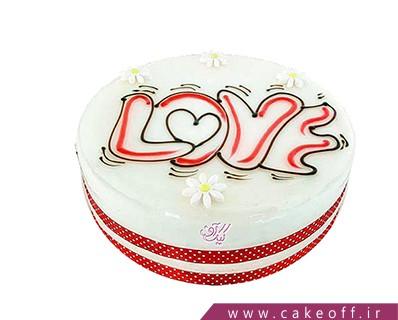 کیک عاشقانه روزهای زیبا | کیک آف