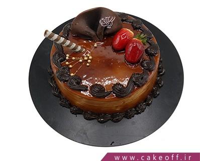 کیک تولد شکلاتی - کیک زمزمه | کیک آف