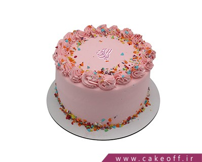 کیک خامه ای چیدن ستاره ها | کیک آف
