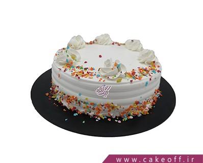 کیک خامه ای - کیک دنیای شیرین خامه ها | کیک آف