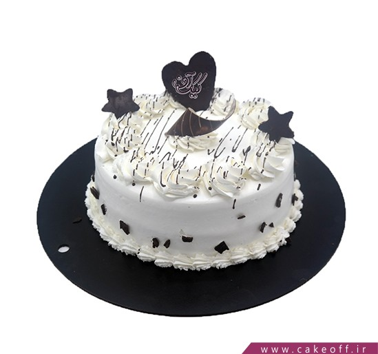 کیک زیبا - کیک ستاره شکلاتی | کیک آف