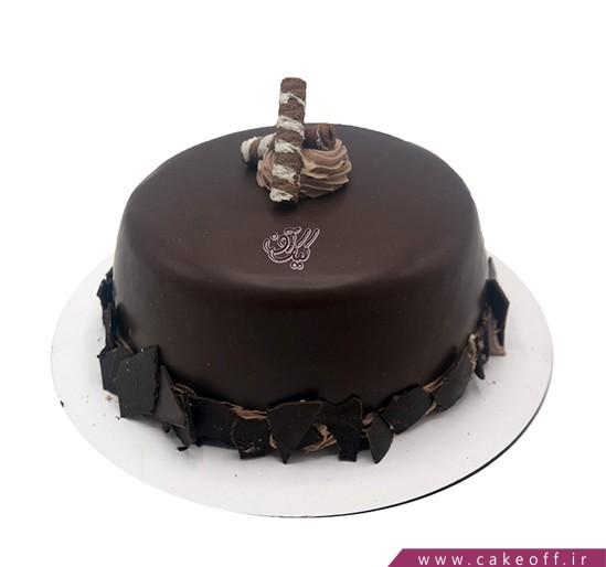خرید آنلاین کیک و لوازم جشن - کیک شکلاتی خیلی شیک | کیک آف