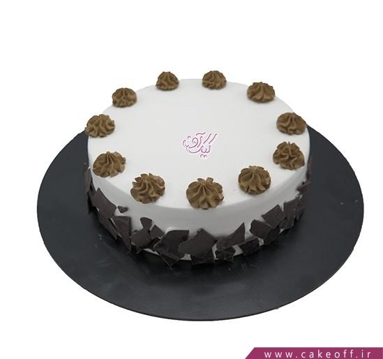 کیک خامه ای عصرانه ساده | کیک آف