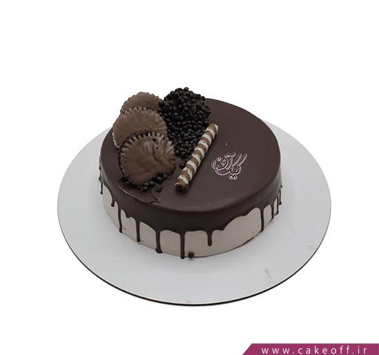 کیک ساده - کیک نسکافه ای من   کیک آف